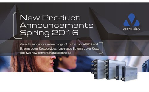 Product Launch Spring 2016