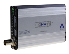 HIGHWIRE Powerstar Quad 4 Port Ethernet & POE over Coax