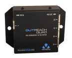 PoE powered PoE switch - OUTREACH QUAD