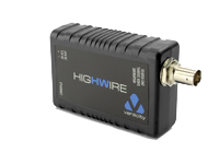 HIGHWIRE High-Speed Ethernet Over Coax Video Cable