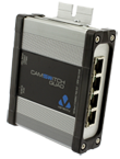 CAMSWITCH QUAD A ruggedised POE Switch for IP Video