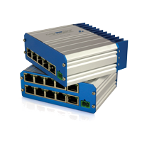 CAMSWITCH 4 MOBILE and CAMSWITCH 8 MOBILE 802.3at POE Network Switch